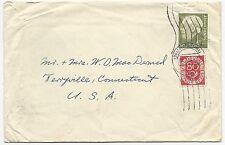Germany Scott #719 #684 on Cover Bunder Post July 31, 1954
