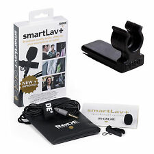 RODE smartLav+ Lavalier Microphone with RODE Vampire Clip