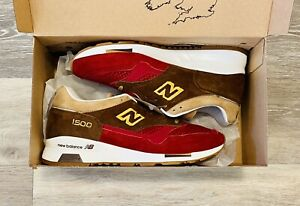 New Balance 'Holiday Pack' Made In England Suede M1500RNR Men's 7, Women's 8.5