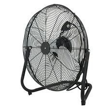 High Velocity Portable Floor Fan 3 Speeds Rotating Industrial Shop Garage Home