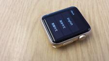 Apple Watch Series 1 A1803 42mm Gold Aluminium Case, GRADE B (NO BAND)