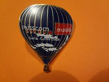Pin, Ballonpin, Ballon, Balloon, Swisscom Mobile, Werbepin, 36x30mm