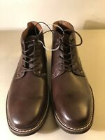 Guess Chukka Leather Men Lace Up Lightweight Ankle Boots Brown GMJOAH3-R Sz 10.5
