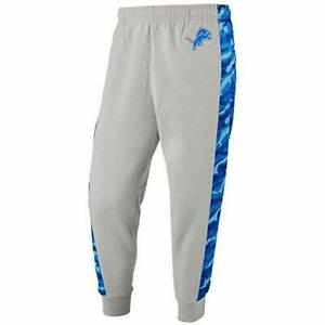 Forever Collectibles NFL Men's Detroit Lions Printed Poly Insert Jogger Pants