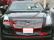 Fits 2008-2011 Cadillac CTS Billet Grille Grill Combo