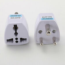 Travel Outlet Converter Adapter South Africa turn universal three-pin plug