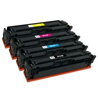 4 x Color Toner Cartridge for HP 201A CF400A CF401A CF402A CF403A M252dw M277dw