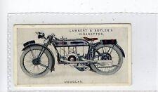 (Jd6093) LAMBERT & BUTLER,MOTOR CYCLES,DOUGLAS,1923,#16