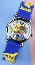 🇫🇷Montre Pokémon Enfant Garcon Bleu Bracelet 3D  Kid Watch Boy🥇