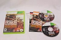 Medal of Honor Warfighter Limited Edition Xbox 360 MINT Discs Complete CIB!!!