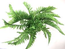 Artificial Boston Fern Bush Artificial Flowers Artificial Leaves Silk