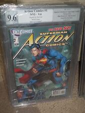 Action Comics #1 1:25 Jim Lee Variant PGX SS 9.6 signed Jim Lee! New 52 CGC