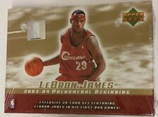 2003-04 Upper Deck Phenomenal Beginnings Lebron James Factory Sealed Box Set
