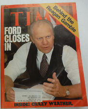 Time Magazine Henry Ford Ronal Reagan August 1976 052815R
