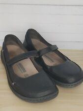"Black Leather Iona 42 ""Discontinued"" Mary Janes Birkenstock Sz EU 42"