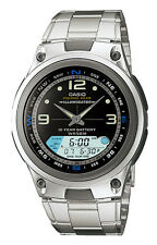 Casio AW82D-1A Men's Analog Digital Chronograph Alarm Fishing Gear Sports Watch