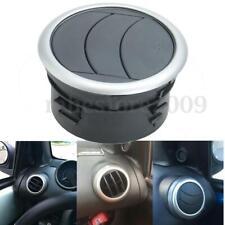 2xBlack 360 Air Conditioner Outlet Vent Grille Deflector Dash For Suzuki SX4
