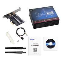 WiFi 6 Wireless Card Intel AX200 Dual Band for PC MU-MIMO 2400Mbps bluetooth 5.0