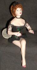 1:12 Doll White Woman Chicken Ranch Bordello Dollhouse Miniature #4911 Thomas