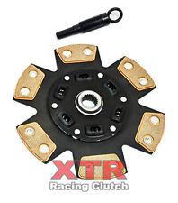 XTR RACING STAGE 3 6 PUCK CLUTCH DISC+TOOL FOR NISSAN 350Z 370Z INFINITI G35 G37
