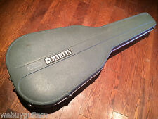 1970s Blue Martin D18 D21 D28 D35 D45 Dreadnaught HardShell Acoustic Guitar Case