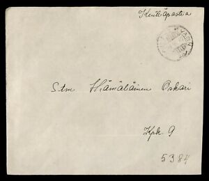 DR WHO 1942 FINLAND KENTTAPOSTIA MILITARY C189582