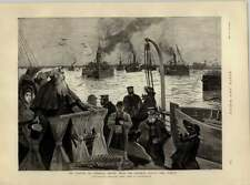 1892 Man Of The Hour General Booth Returning From His Journey Round The World