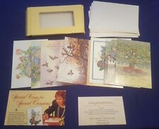 Vintage READERS DIGEST Stationary Cards Set 10 of 12 Left and Unused