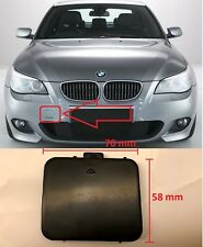 BMW 5 E60/E61 M PAKET 03-08 KAPPE DECKEL STOßSTANGE KLAPPE ABSCHLEPP 7897210