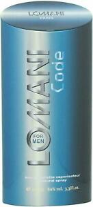 Lomani Code EDT Perfume For Men - 100 ml / 3.4 fl. oz. Free Shipping