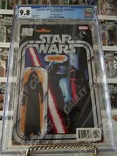 CGC 9.8 Star Wars Force Awakens #5 ~ Kylo Ren Figure Variant ~ JTC Exclusive
