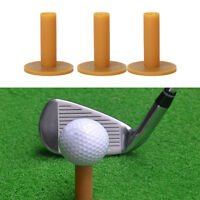 60/70/80mm 3X Pack Coffee Golf Rubber Tees Holder Tee Training-Practice_Mat