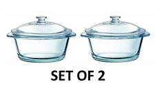 Set of 2 Luminarc Mini Casserole Daily Chef, Glass Casserole Pack of 2, 25cl