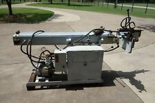Pines Brand 1400 Tube And Profile Bender With Turret Angle Stop 3 Phase