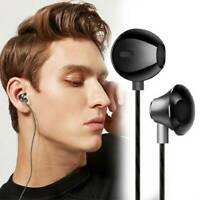 HIFI Super Bass Headset 3.5mm In-Ear Earphone Stereo Earbuds Headphone With Mic