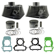 Front Rear Cylinder Piston Ring End Gasket Kit For Yamaha Virago XV250 Route 66