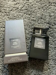 Tom Ford Oud Wood Eau De Parfum 3.4 Oz 100 Ml Spray New In Box Sale