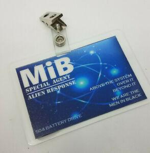 Men In Black ID Badge-Special Agent Alien Response costume prop cosplay MIB