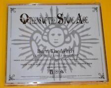 Queens Of The Stone Age Burn The Witch US Radio DJ 2 Track Promo 2005 QOTSA