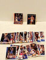 New York Knicks Basketball Cards 39 ORIGINAL NBA Cards Patrick Ewing John Starks