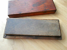 Natural Sharpening stone set in box washita