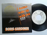 "Boris Gardiner / I Wanna Wake Up With You / 7"" Vinyl Single 1986 mit Schutzhülle"