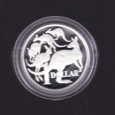 2006  SILVER Proof $1 Australia Kangaroo Coin  ex Fine Silver Set
