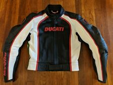 Dainese Ducati Women's CE Armored Leather Motorcycle Jacket - Euro 44
