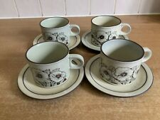 Hornsea Cornrose - 4 X Cups and Saucers