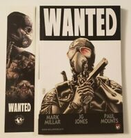 WANTED - Mark Millar - Graphic Novel TPB - Top Cow with Promo Bookmark - VG