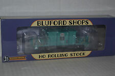 Bluford Shops 34230 IHB Green Short Roof Transfer Caboose Ho Scale