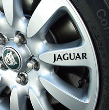 JAGUAR ALLOY WHEEL STICKERS / DECALS X TYPE S TYPE XJ 8 XJ 6  XF XJS SOVEREIGN