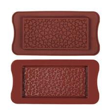 Chocolate Bars Hearts Slab Silicone Fondant Mould Cake Decorating Baking Mold