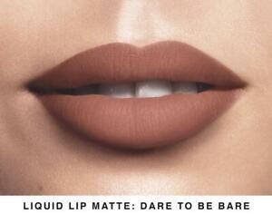 AVON MARK LIQUID LIP LACQUER MATTE LIPSTICK DATE TO BE BARE MAKE UP BRAND NEW